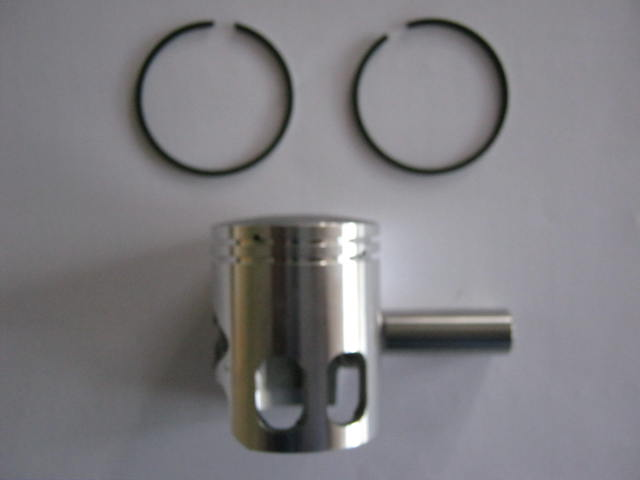 Piston Kit for 1E40QMB 2 stroke - 12mm gudgeon