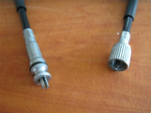 Speedo cable - 900mm LOA - Slotted End