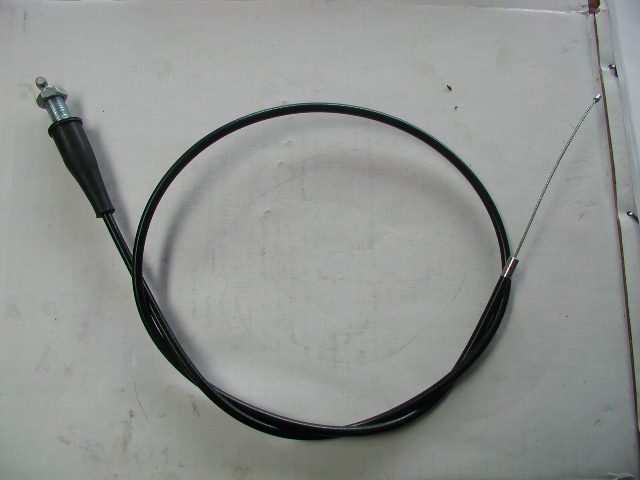 Throttle Cable - Straight Ends - 750mm LOA