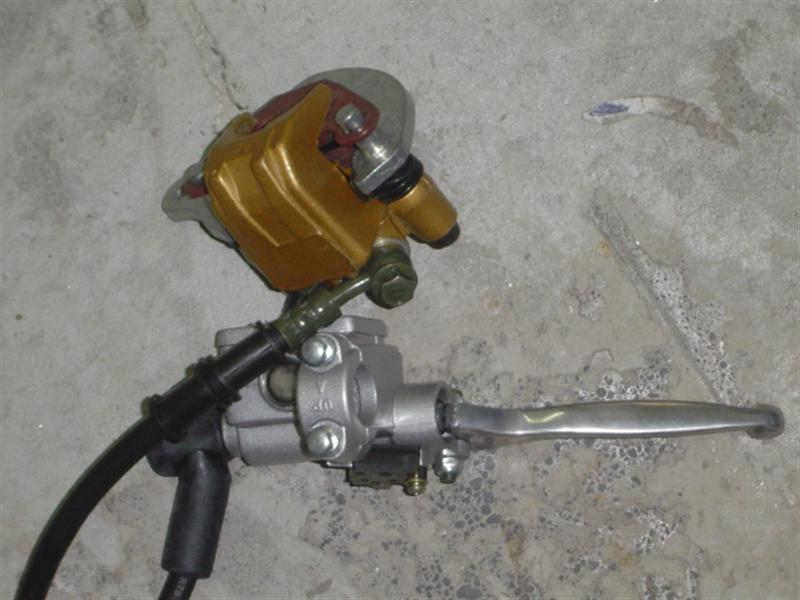 Brake Assembly - Front Hydraulic