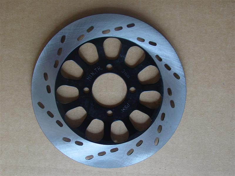 Brake Disc 222mm diameter - 4 bolt - 65mm PCD