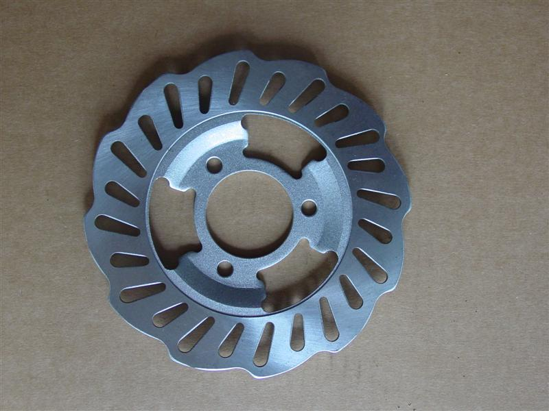 Brake Disc 180mm diameter - 3 bolt - 67mm PCD