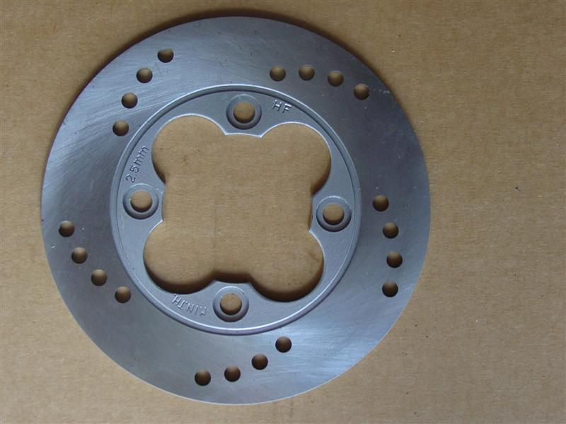 Brake Disc 190mm diameter - 4 bolt - 95mm PCD
