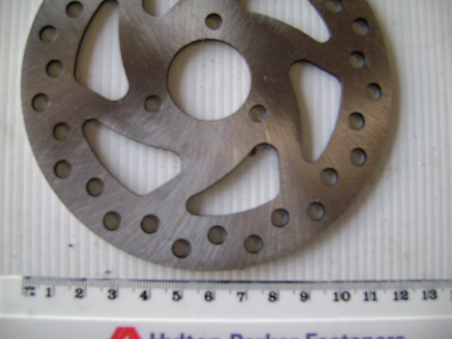 Brake Disc 120mm diameter - 3 bolt - 33mm centres
