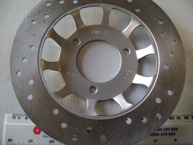 Brake Disc 220mm diameter - 3 bolt - 67 mm centres