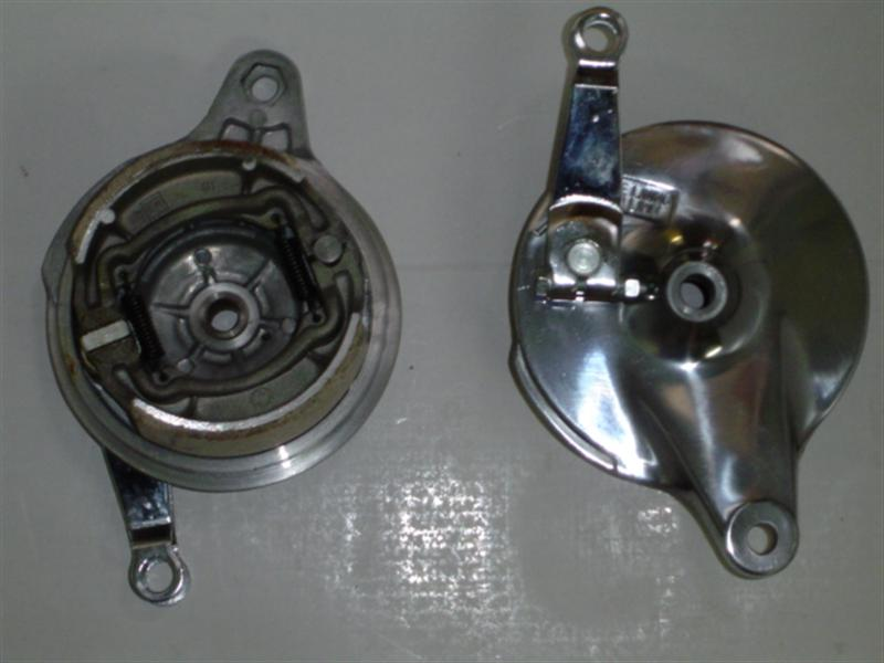 Drum Brake Assembly 014t 110mm