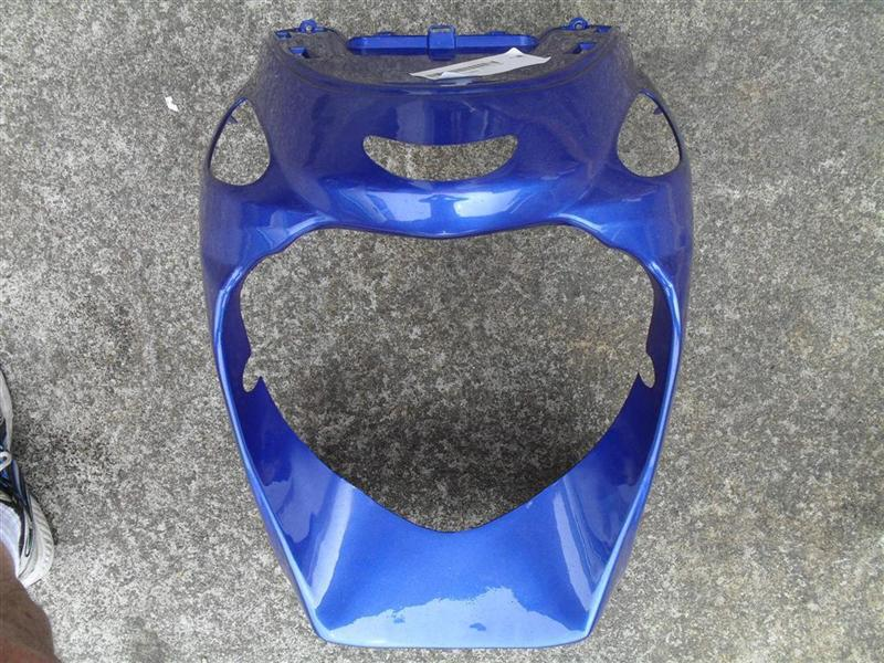 Scooter 50cc lower front cowl