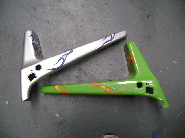 Chopper Lower Front Frame Covers
