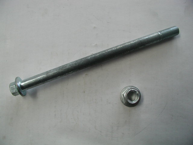 Axle 190mm x 12mm with nut