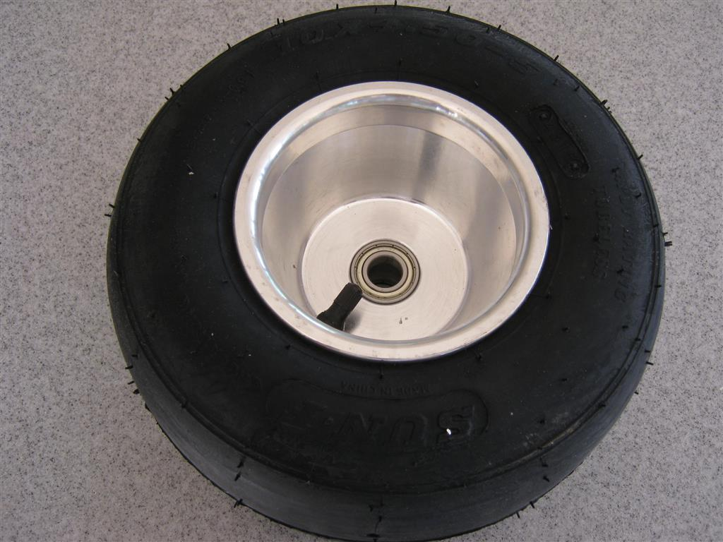 Go Kart Wheel & Tyre - Front - 5in
